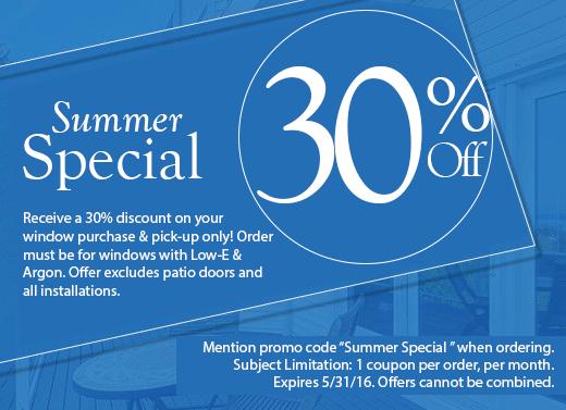 Summer Special 30% Off